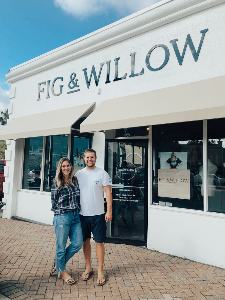 Fig & Willow Boutique Clothing Store Grand Opening in San Marco, Florida