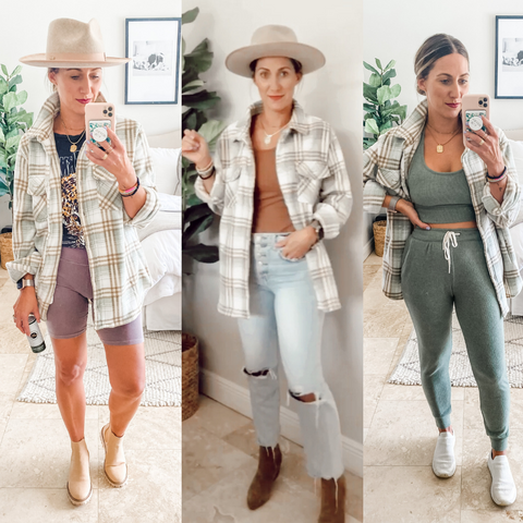 3 Ways to Style a Shacket