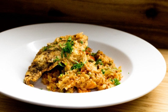 Chicken Wild Rice Paella