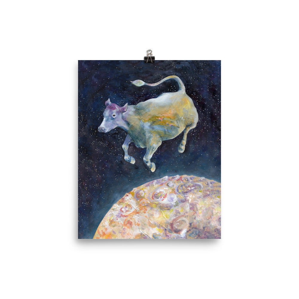 The Cow Jumped Over The Moon - Green