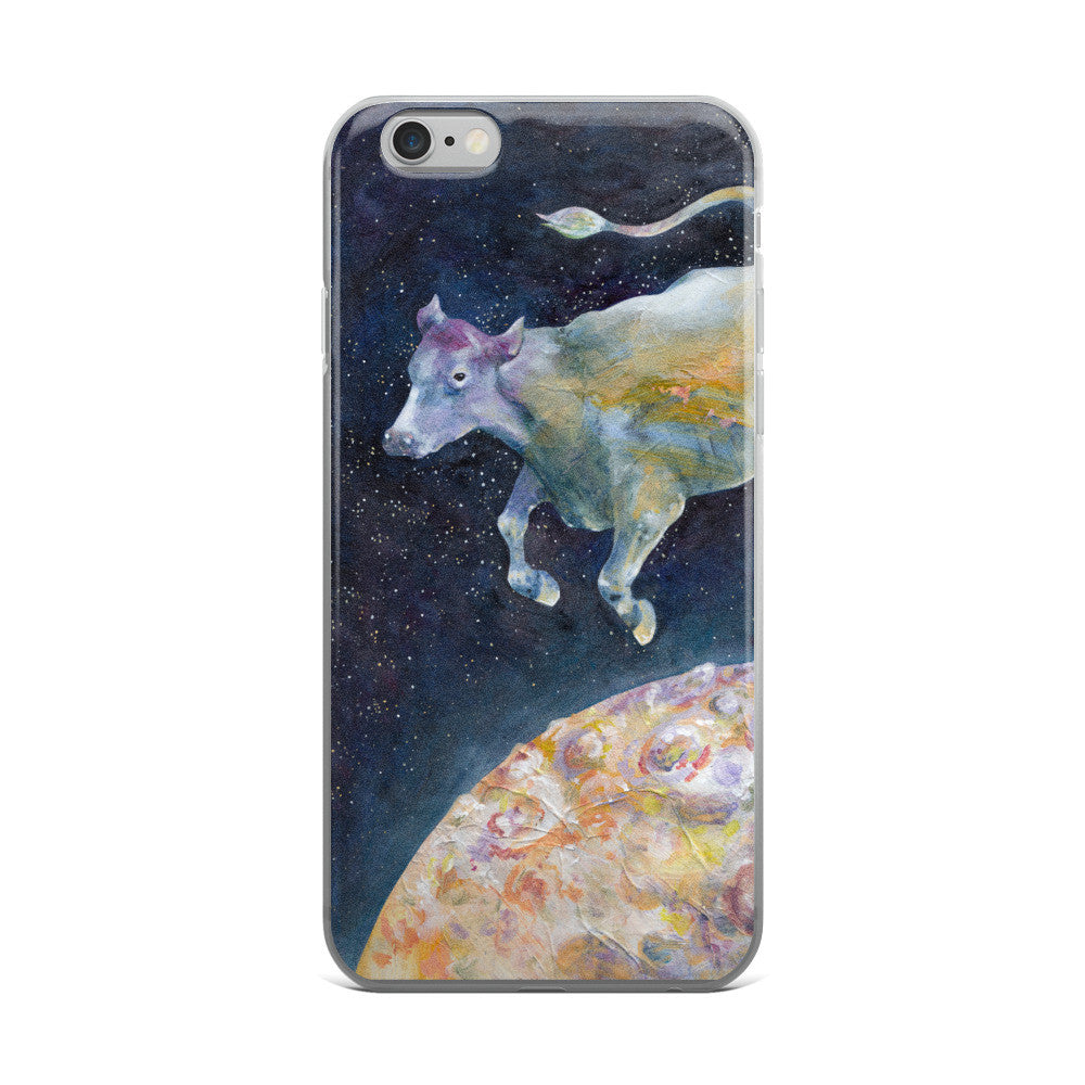 Cow Jumped Over The Moon - iPhone 5/5s/Se, 6/6s, 6/6s Plus Case