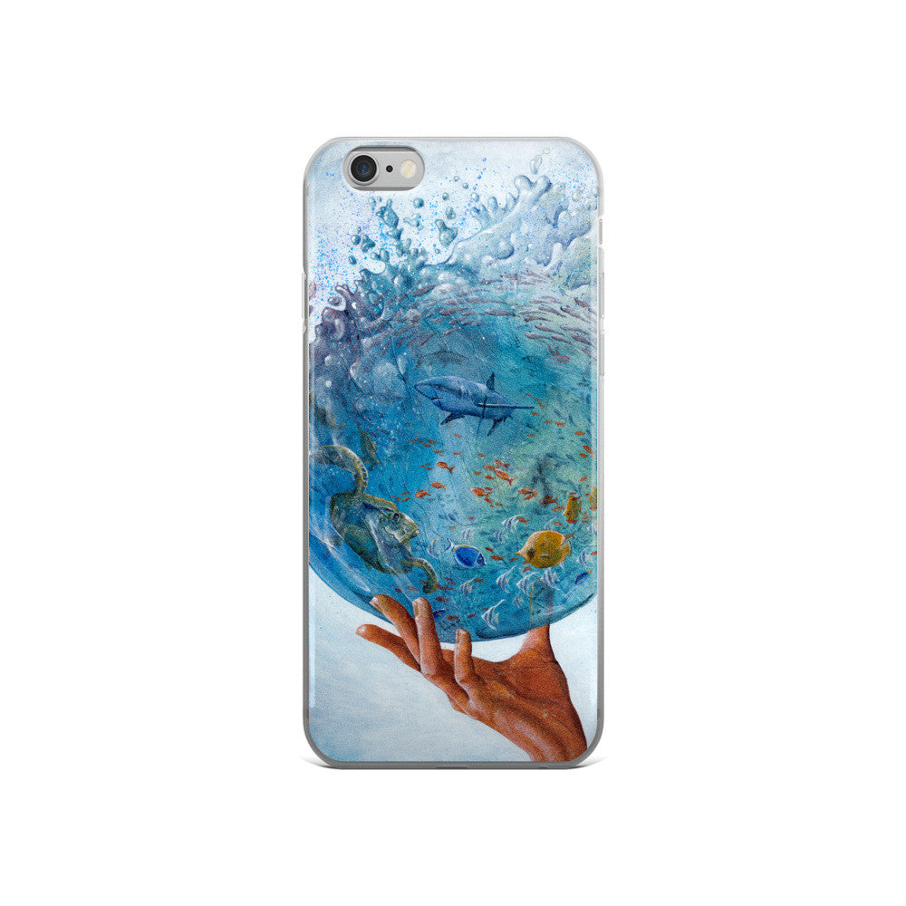 A Drop Of The Ocean - iPhone 5/5s/Se, 6/6s, 6/6s Plus Case