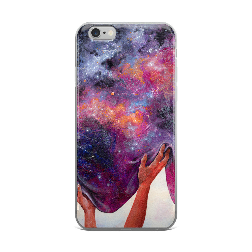 Women Hold Up Half The Sky: Space - iPhone 5/5s/Se, 6/6s, 6/6s Plus Case