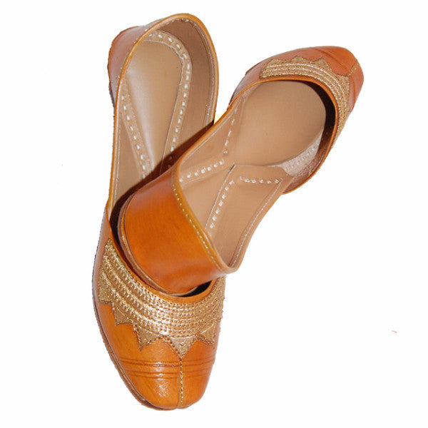 P-JUTI1303 Punjabi Jutti (Leather)