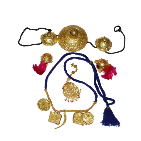 D-ACC1307 Traditional Punjabi Ornaments Set.