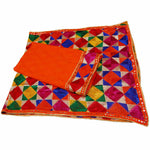 P-KARI1331 Phulkari Suit with Neck & Baaju