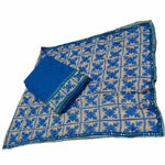 P-KARI1333 Self Cotton Phulkari Suit with  Neck & Baaju