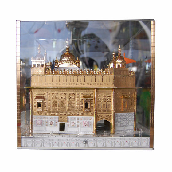 G-MDL1304 LED Lit-up Golden Temple's  Model