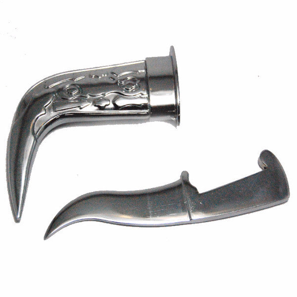 KRPN1306 - Engraved Steel Metal Kirpan
