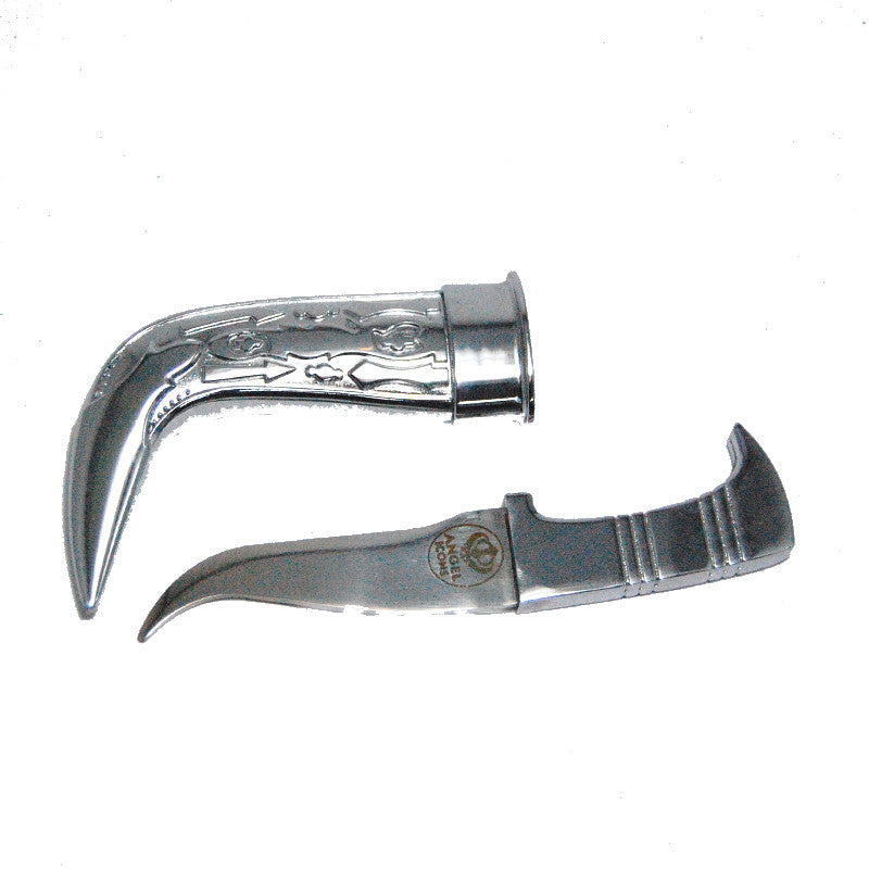 KRPN1307 - Engraved Steel Metal Kirpan