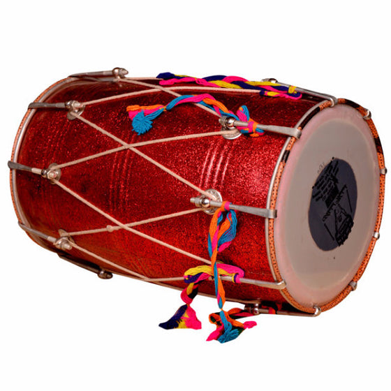M-ISMT1349 Bhangra Dhol (Red)