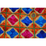 P-KARI1344 Phulkari (Baagh) with Mirror & Latkan