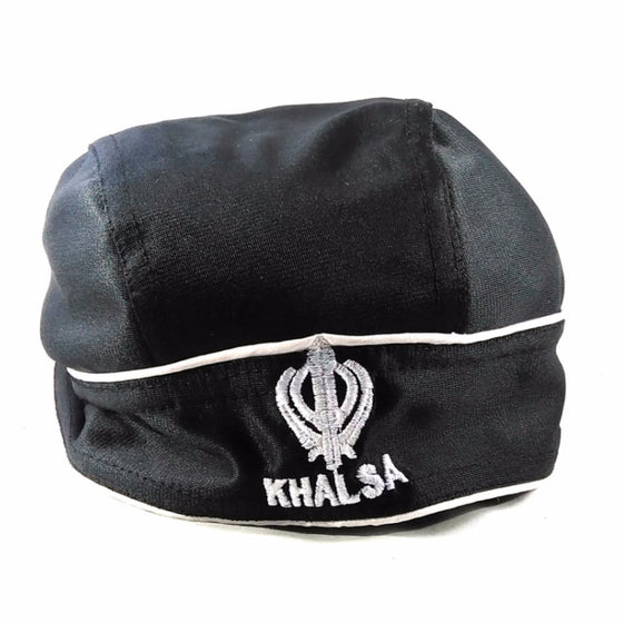 T-BND1302 Plain Bandana with a Khanda