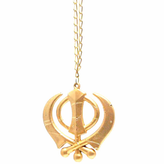 R-CAR1301 Metal Khanda Car Hanging