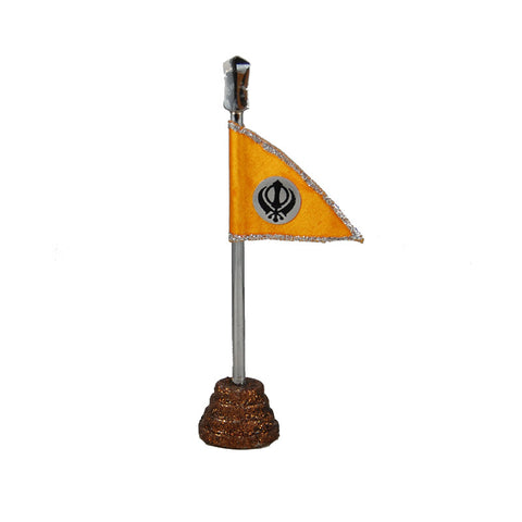 R-DSK1050 Sikh Flag with Khanda