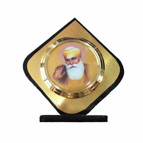 R-DSK1057 Guru Nanak Dev Ji Pic model for Dashboard or Desk