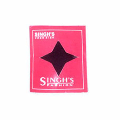 S-Ban1306 Singh'S Fashion Stretch Bandana (Black)