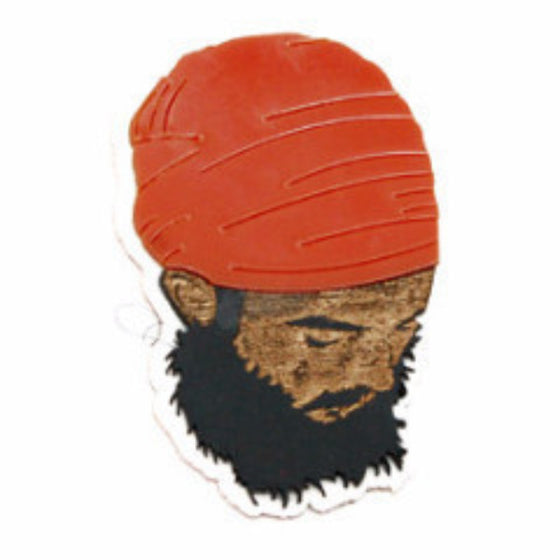STKR1303 Sardari ji With Dumala Sticker (Colored)