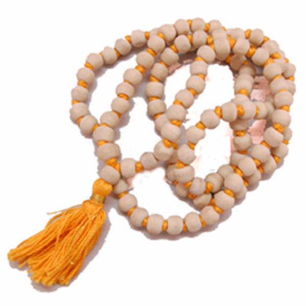 SIMRNA1308 Kohinor Gems Tulsi Mala  108 Beads For Chanting Mantrs