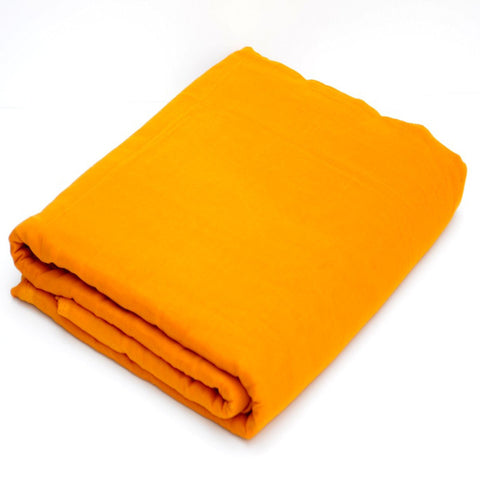Turban Fabric with many options of size and fabric (Cadmium-Yellow)