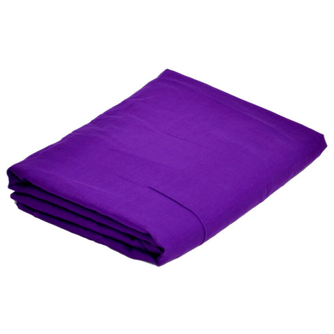 Turban Fabric with many options of size and fabric (Dark Purple)
