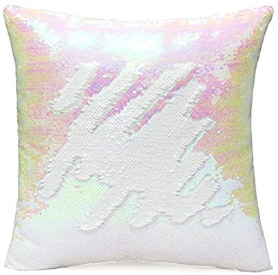 Sunny Day Sequin Pillow
