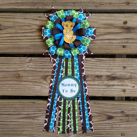 Lion King Baby Shower Corsage