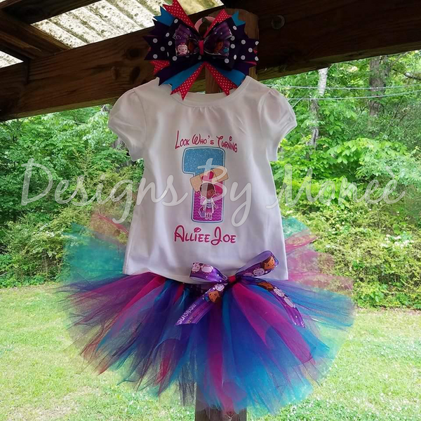 Doc Mcstuffins Birthday Outfit
