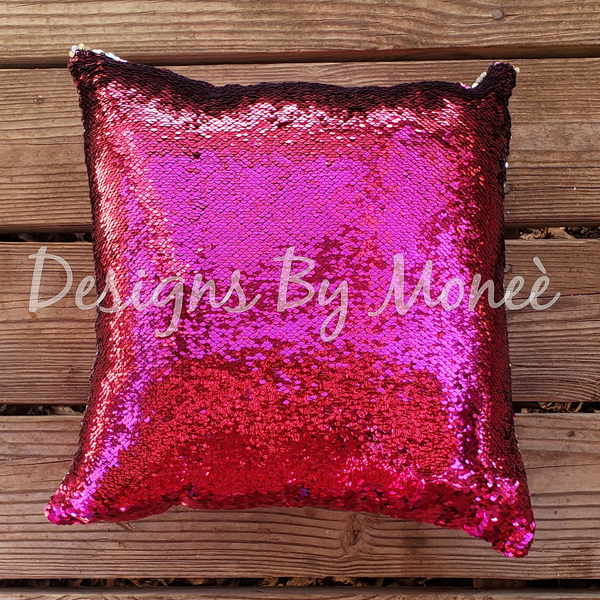Princess Poppy Trolls Sequin Pillow