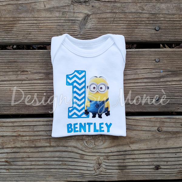 Minions Birthday Shirts