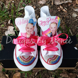 JoJo Siwa Inspired Personalized Rainbow Converse