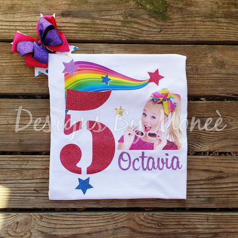 JoJo Siwa Inspired Birthday Shirt