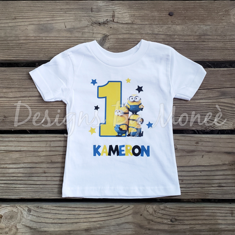 Minions Birthday Shirt