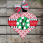 Ornament Christmas Door Hanger
