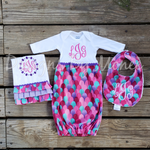 Mermaid Baby Girl Bundle