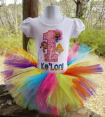 Bubble Guppies Rainbow Birthday Outfit