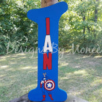 Marvel's Super Hero Captain America Theme Letter