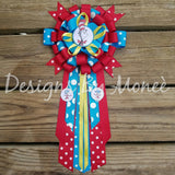 Dr Suess the Cat in the Hat Babyshower Corsage Thing 1 Thing Two