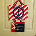 Nautical Hospital Door Hanger