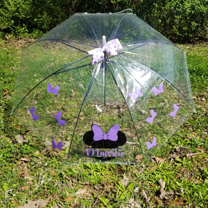 Clear Character Umbrella for Child or Adult