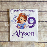 Princess Sofia The First Birthday Outfit