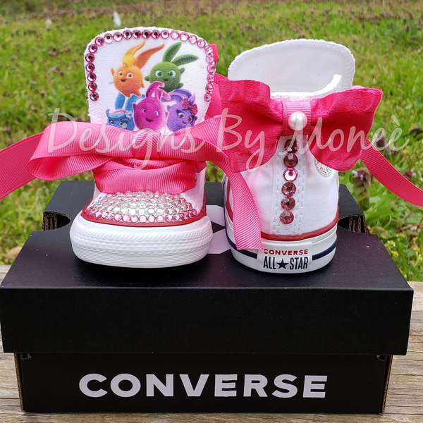 Sunny Bunnies Inspired Bling Rhinestone Converse
