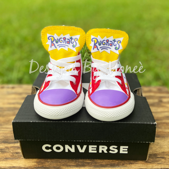 Rugrats Inspired Converse