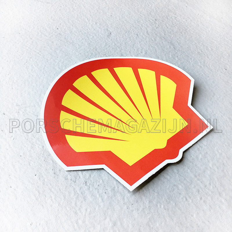 Shell embleem sticker decal