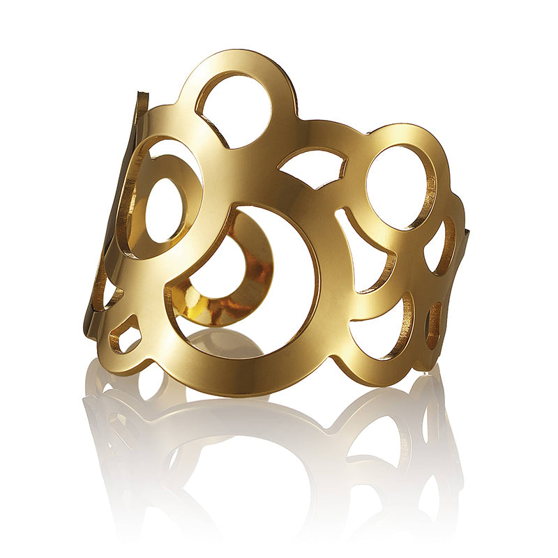 DM Circles Cuff Golden