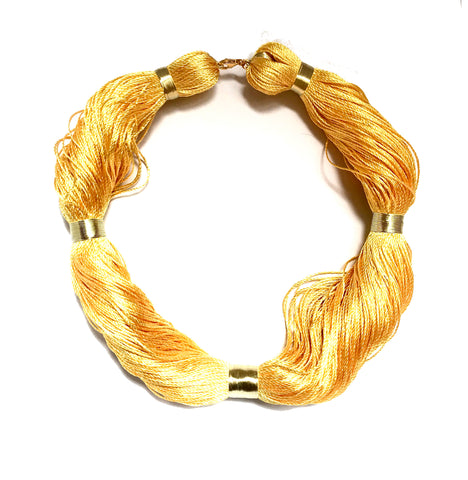 Giallo String Necklace, Venice Collection