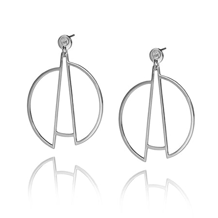 Drift Earrings Silver
