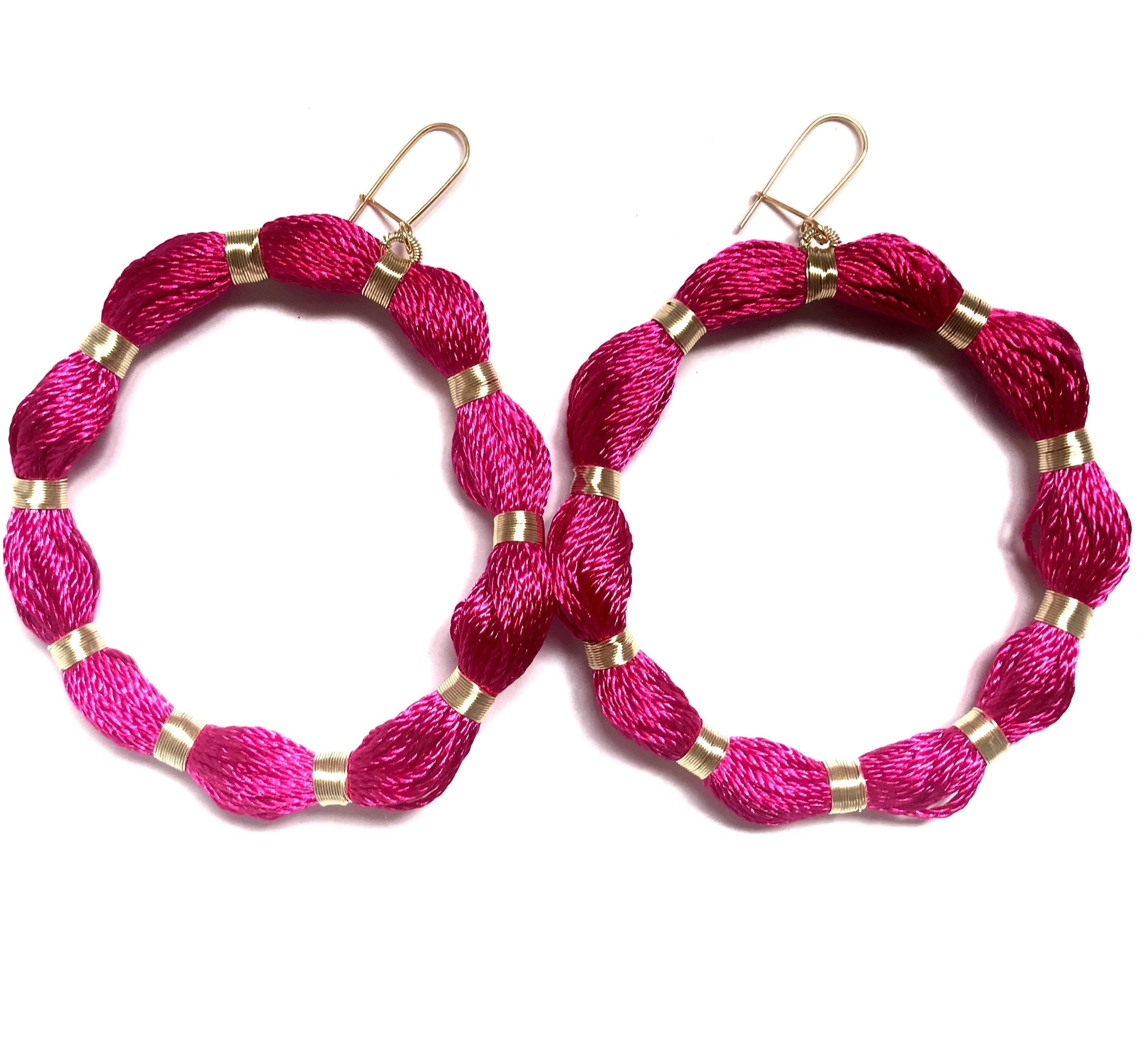 Magenta Hoops, Venice Collection