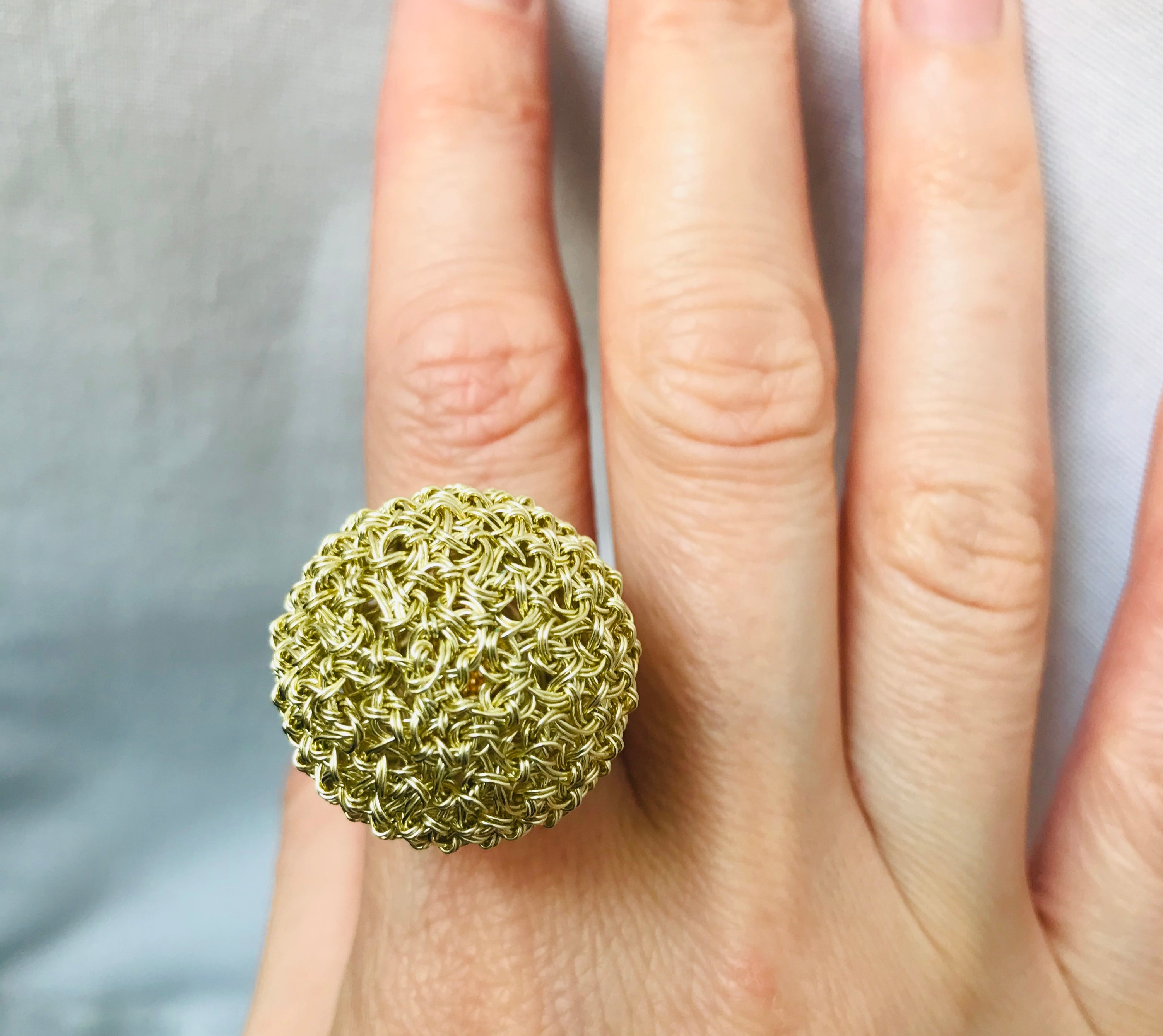 Perla D'Oro Ring, Venice Collection