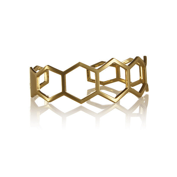 Cell cuff thin gold plated